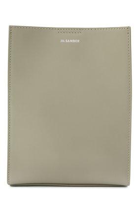 Женская сумка tangle small JIL SANDER светло-серого цвета, арт. JSPT853173-WTB69159N | Фото 1