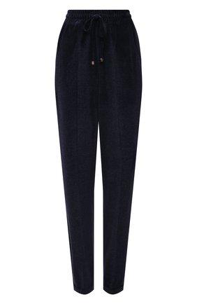 Женские брюки KITON темно-синего цвета, арт. D37102K01T27   Фото 1