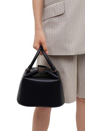 Женская сумка GABRIELA HEARST темно-синего цвета, арт. GH646-BAEZ LHR   Фото 2
