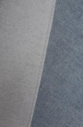 Женский шерстяной шарф LOEWE серо-голубого цвета, арт. F810487X01 | Фото 2