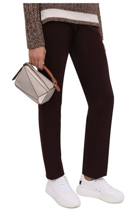 Женская сумка puzzle mini LOEWE бежевого цвета, арт. A510U95X42   Фото 2