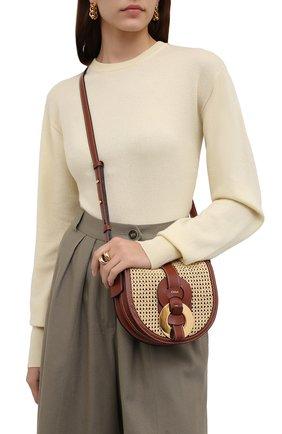 Женская сумка darryl CHLOÉ коричневого цвета, арт. CHC21US344E49   Фото 2