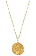 Женские кулон AZLEE бесцветного цвета, арт. N659-G18-20 | Фото 1 (Драгоценные камни: Бриллианты; Материал сплава: Желтое золото)