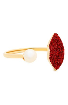 Женские кольцо DELFINA DELETTREZ бесцветного цвета, арт. ANA1017.D | Фото 1