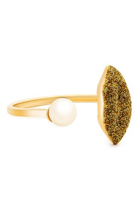 Женские кольцо DELFINA DELETTREZ бесцветного цвета, арт. ANA1017.F | Фото 1