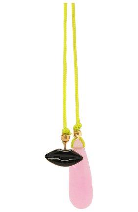 Женские колье DELFINA DELETTREZ бесцветного цвета, арт. ANA3019.B | Фото 2