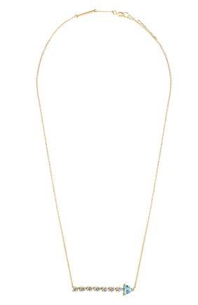 Женские колье DELFINA DELETTREZ бесцветного цвета, арт. GLV3001.E | Фото 1