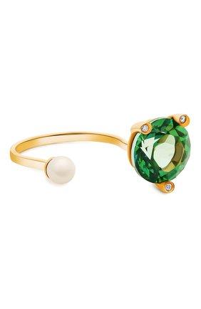 Женские кольцо DELFINA DELETTREZ бесцветного цвета, арт. MGT1001.B | Фото 1
