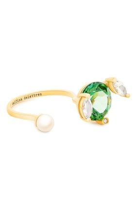 Женские кольцо DELFINA DELETTREZ бесцветного цвета, арт. MGT1001.F | Фото 1