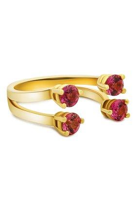 Женские кольцо DELFINA DELETTREZ бесцветного цвета, арт. NTL1004.B | Фото 1