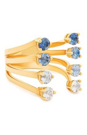 Женские кольцо DELFINA DELETTREZ бесцветного цвета, арт. NTL1005.A | Фото 1