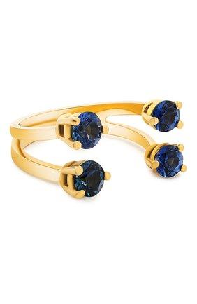 Женские кольцо DELFINA DELETTREZ бесцветного цвета, арт. NTL1005.B | Фото 1