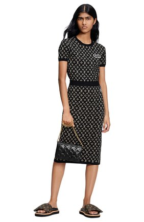 Женская юбка LOUIS VUITTON черного цвета, арт. 1A93IC | Фото 2