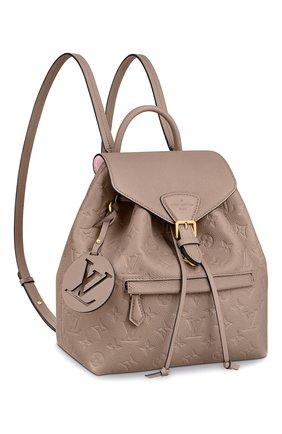 Женский рюкзак montsouris LOUIS VUITTON бежевого цвета, арт. M45410 | Фото 1