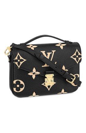Женская сумка pochette metis LOUIS VUITTON черного цвета, арт. M45773 | Фото 1
