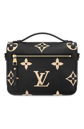 Женская сумка pochette metis LOUIS VUITTON черного цвета, арт. M45773 | Фото 2