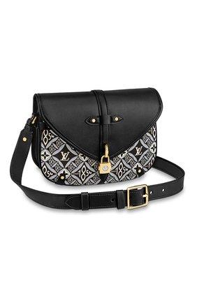 Женская сумка saumur LOUIS VUITTON черного цвета, арт. M57488 | Фото 1