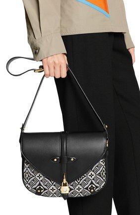 Женская сумка saumur LOUIS VUITTON черного цвета, арт. M57488 | Фото 2