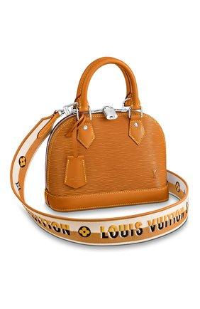 Женская сумка alma bb LOUIS VUITTON светло-коричневого цвета, арт. M57540 | Фото 1