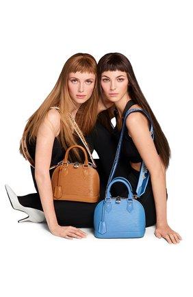 Женская сумка alma bb LOUIS VUITTON светло-коричневого цвета, арт. M57540 | Фото 2