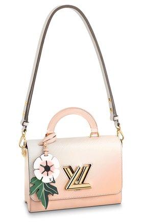 Женская сумка twist LOUIS VUITTON светло-розового цвета, арт. M57670 | Фото 1