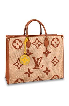 Женский сумка onthego gm LOUIS VUITTON бежевого цвета, арт. M57644 | Фото 1