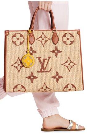 Женский сумка onthego gm LOUIS VUITTON бежевого цвета, арт. M57644 | Фото 2