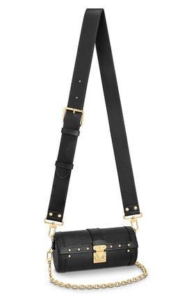 Женская сумка papillon trunk LOUIS VUITTON черного цвета, арт. M58655 | Фото 1