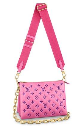 Женская сумка coussin pm LOUIS VUITTON розового цвета, арт. M58628 | Фото 1