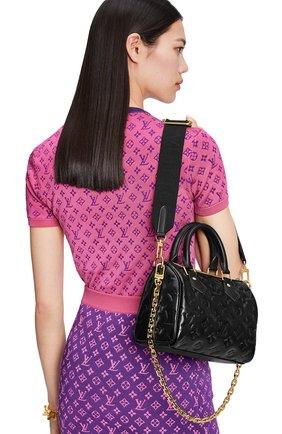 Женская сумка speedy 22 LOUIS VUITTON черного цвета, арт. M58631 | Фото 2