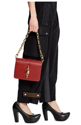 Женская сумка rendez-vous LOUIS VUITTON красного цвета, арт. M57744 | Фото 2