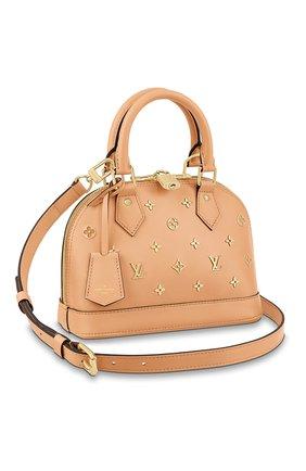 Женская сумка alma LOUIS VUITTON розового цвета, арт. M58638 | Фото 1