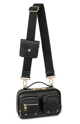 Женская сумка utility LOUIS VUITTON черного цвета, арт. M80450 | Фото 1