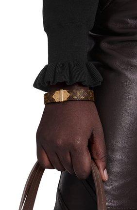 Женский браслет nano monogram LOUIS VUITTON коричневого цвета, арт. M6689E | Фото 2