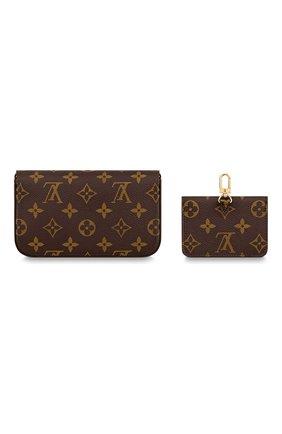 Женский клатч с футляром для кредитный карт LOUIS VUITTON коричневого цвета, арт. M80091 | Фото 2