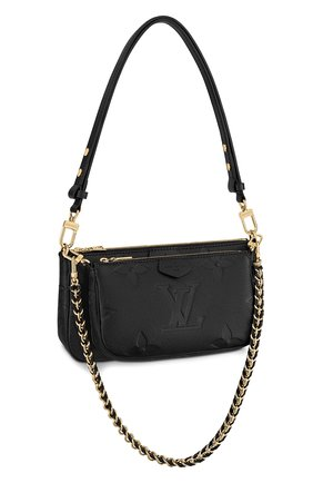 Женская сумка multi pochette accessoires LOUIS VUITTON черного цвета, арт. M80399 | Фото 1