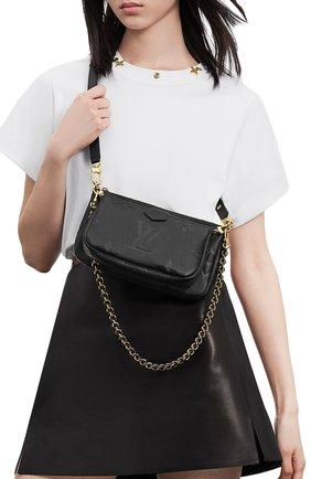 Женская сумка multi pochette accessoires LOUIS VUITTON черного цвета, арт. M80399 | Фото 2