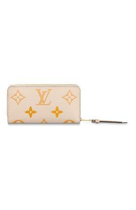 Женские кошелек zippy LOUIS VUITTON светло-бежевого цвета, арт. M80402 | Фото 1