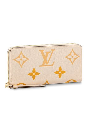 Женские кошелек zippy LOUIS VUITTON светло-бежевого цвета, арт. M80402 | Фото 2