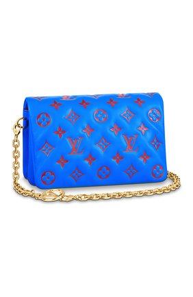 Женский клатч coussin LOUIS VUITTON синего цвета, арт. M80743 | Фото 1