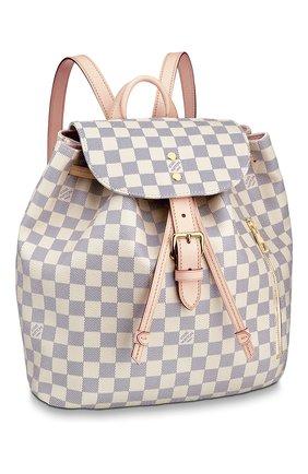 Женский рюкзак sperone LOUIS VUITTON светло-бежевого цвета, арт. N41578 | Фото 1