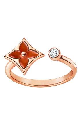 Женское кольцо color blossom mini star LOUIS VUITTON золотого цвета, арт. Q9P36D | Фото 1