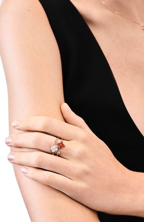 Женское кольцо color blossom mini star LOUIS VUITTON золотого цвета, арт. Q9P36D | Фото 2