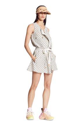 Женское шелковое платье LOUIS VUITTON кремвого цвета, арт. 1A8RE1 | Фото 2