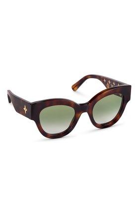 Женские солнцезащитные очки LOUIS VUITTON коричневого цвета, арт. Z1461W | Фото 1