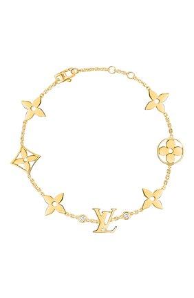 Женский браслет idylle blossom LOUIS VUITTON золотого цвета, арт. Q95588 | Фото 1