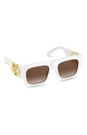 Женские солнцезащитные очки LOUIS VUITTON белого цвета, арт. Z1542W | Фото 1