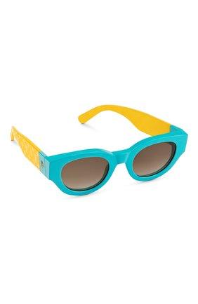 Женские солнцезащитные очки LOUIS VUITTON бирюзового цвета, арт. Z1546W | Фото 1