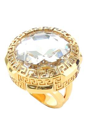 Женское кольцо greca VERSACE золотого цвета, арт. 1001429/1A00621 | Фото 1