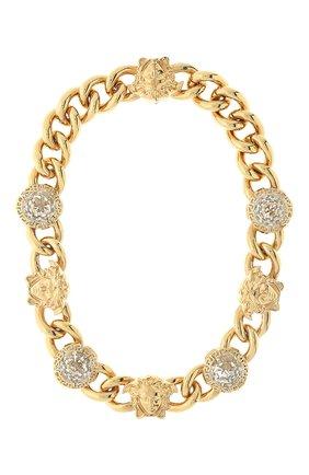 Женское колье medusa VERSACE золотого цвета, арт. 1001461/1A00621 | Фото 1